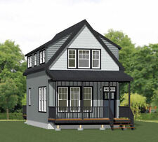 18x30 Tiny House -- PDF Floor Plan -- 999 sq ft -- Model 7B