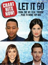 Chart Hits Now Let It Go PLAY Idina Menzel LORDE Pop Rock Songs PIANO Music Book