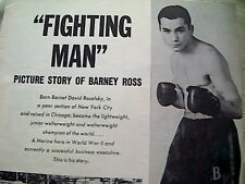 58101 ephemera picture barney ross article fighting man 1960