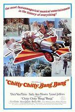 CHITTY CHITTY BANG BANG 1968 FILM POSTER A3 REPRINT