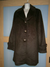 TALBOTS wooll brown womens coat size 14