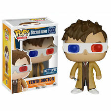Doctor Who FUNKO POP Vinyl Figurine 10th TENTH DOCTOR 3D GLASSES 9 cm exclusive