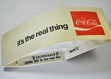 Enjpy Coca Cola Coke Papier Mütze Koch Hut Soda Jerk Hat USA 1970er