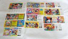 12 Lot 1980s 'Doraemon' Animation movie special discount coupon ticket