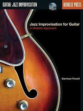Jazz Improvisation for Guitar: A Melodic Approach by Fewell, Garrison