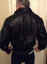 VINTAGE AVIATRIX LEATHER JACKET SIZE S Bomber / Biker