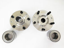 2 Front Left & Right Wheel Hub & 2 Front Wheel Bearing Set MAZDA 6 2003-2008