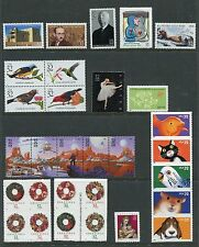 US 1998 Complete Commemorative Year Set MNH 98 Stamps - 60 Stamps & 3 Sheets USA
