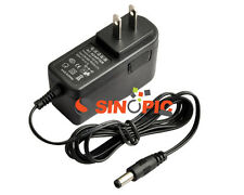 12V 1A 1000mA AC/DC 100-240V Power Supply Adapter 5.5 x 2.5 US Plug