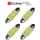 "4x 42mm(1.72"") 16-SMD DC 12V Super Bright White LED Bulb 211, 212, 211-2, 212-2"