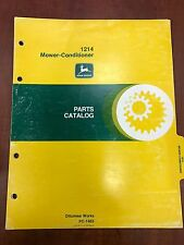 John Deere Parts Catalog 1214 Mower Conditioner #PC1463