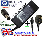 GENUINE HP DV7 LAPTOP 19V 4.74A 90W ORIGINAL CHARGER ADAPTER + UK POWER CABLE