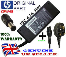 GENUINE HP 463955-001 463553-001 LAPTOP POWER SUPPLY 19V 4.74A 90W + UK CABLE