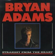Bryan Adams Straight From The Heart 3 track - UK 12""
