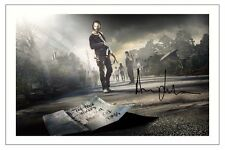 ANDREW LINCOLN THE WALKING DEAD SEASON 5 SIGNED PHOTO PRINT RICK GRIMES