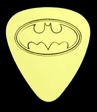 BATMAN - Solid Brass Guitar Pick, Acoustic, Electric, Bass