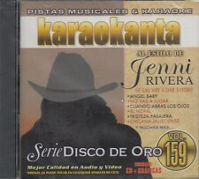 Jenni Rivera Serie Disco De Oro Vol 159 Karaokanta Karaoke New sealed
