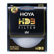 Hoya 52mm HD3 32-Layers Coating UV (Ultra Violet) Filter. U.S Authorized Dealer