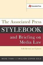 The Associated Press Stylebook and Briefing on Media Law, Goldstein, Norm, 07382