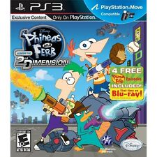 Phineas and Ferb: Across the 2nd Dimension - Playstation 3 Game