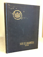 1938 TOWSON HIGH SCHOOL YEARBOOK - Towson, Maryland