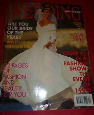 Wedding & Home Magazine Dec 1991 / Jan 1992