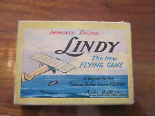1927 Parker Brothers Lindy Airplane Card Game Charles Lindbergh Spirit St Louis