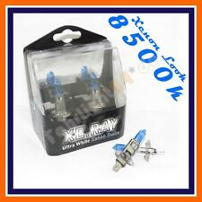 2x h1 Xenon Look Lampade Auto 12v 55w 8500k p14, 5s più luce luce blu