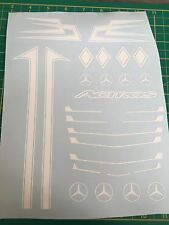 Tamiya 1/14 Truck Mercedes Actros Decals Set Dutch Style *Any Colour*