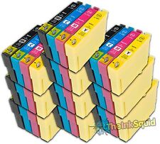 10 Sets Compatible T1285 Ink (40 Cartridges) Epson Stylus S22 (Non-oem)