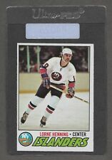 ** 1977-78 OPC Lorne Henning #219 (EXMT) Nice Old Hockey Card ** P4025