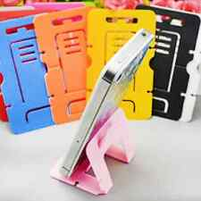 Lot 5PCS Card Foldable Mini Cell Phone Stand Holder Mount Headset Winding Device