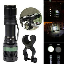 3000LM Zoomable CREE XM-L Q5 LED Bike Head Front Light Flashlight Torch + Mount