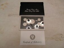 1997 *SILVER* Proof Set Box and Lens ONLY