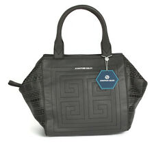 NWT JONATHAN ADLER Leather Nixon Astor Satchel Gray Handbag Purse $278.00