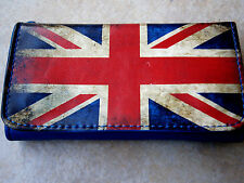 UNION JACK UK BRITISH FLAG ROLLING TOBACCO POUCH CASE WALLET PURSE SMOKING