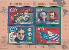 Uruguay n. blocco 26 ** Apollo-Soyuz/аполлон-союз