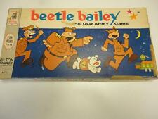 Vintage Board Game BEETLE BAILEY 1963 by Milton Bradley SCARCE
