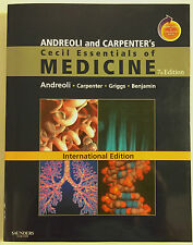 Cecil Essentials of Medicine Andreoli Carpenter 7th Ed Used medical textbook