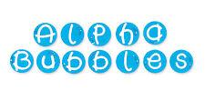 Sizzlits Alpha Bubbles Alphabet 35 die #654880 Retail $149.99 A WONDERFUL FONT!!