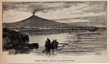 1894  --  ITALIE   CATANE ET L ETNA   3K295