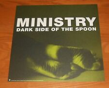 Ministry Dark Side of the Spoon Poster 2-Sided Flat Square Promo 12x12