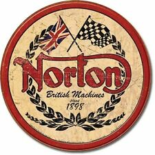 NORTON MOTORCYCLE BRITISH MACHINES SIGN SIGN PARTS & ACCESSORIES