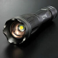 Ultrafire CREE XM-L T6 LED 1600 Lumen 18650 Flashlight Torch light Lamp Zoomable