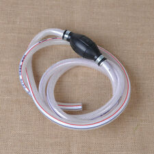 "Universal For Marine Outboard Fuel/Gas Hose Line Assembly 1/2"" with Primer Bulb"