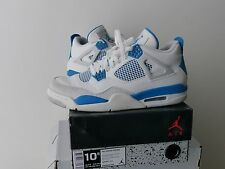 nike air jordan IV 4 retro military blue 10.5 44.5