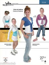 Jalie Bolero Shrugs w/Sleeve & Front Corner Variations Sewing Pattern 2558