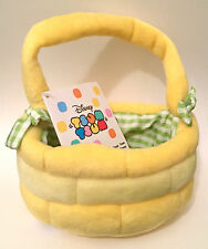 DISNEY 2016 TSUM TSUM MINI EASTER BASKET EMPTY NEW WITH TAGS NWT AUTHENTIC US