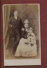Ipswich Family Lady Hat Child Victorian  CDV photograph ps. 29