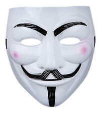 2 x V For Vendetta Guy Fawkes Fancy Dress Party Halloween Masquerade Face Mask